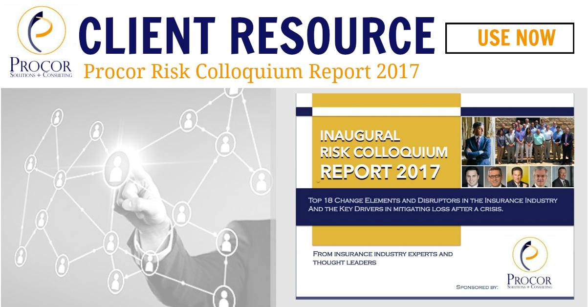 Procor Risk Colloquium Report 2017