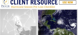 Hurricane Season Pre Loss Checklist