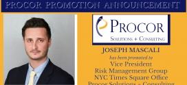 Procor's Joseph Mascali Promoted to Vice President Risk Management Group