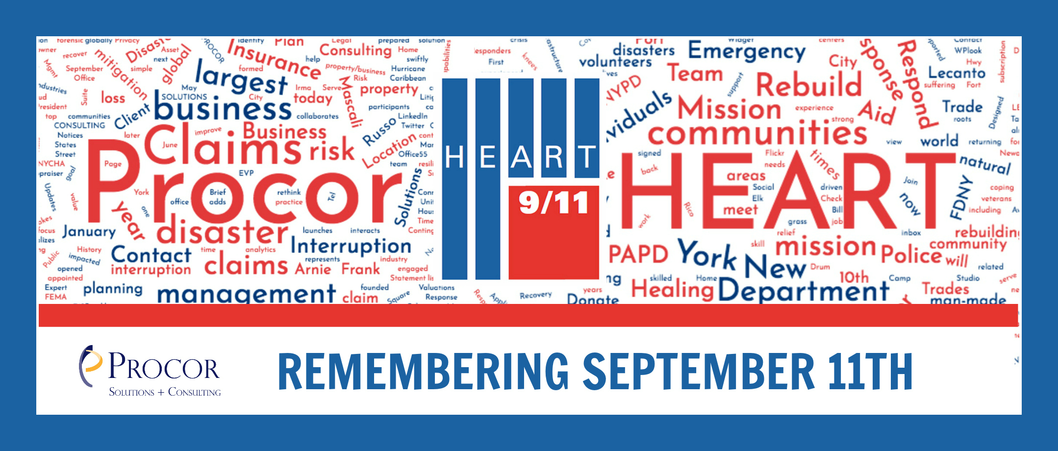 Remembering September 11th with Heart 9/11