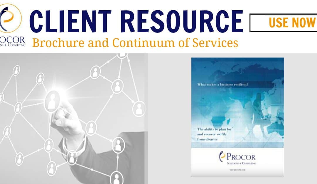 Procor Brochure and Continuum of Services