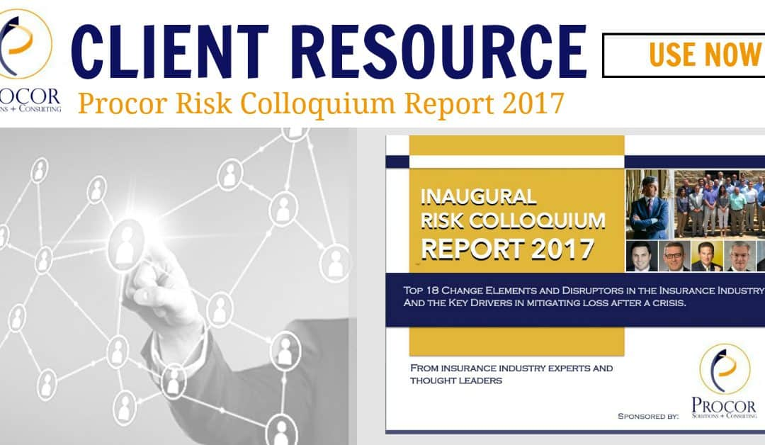 Procor Risk Colloquium Report 2017