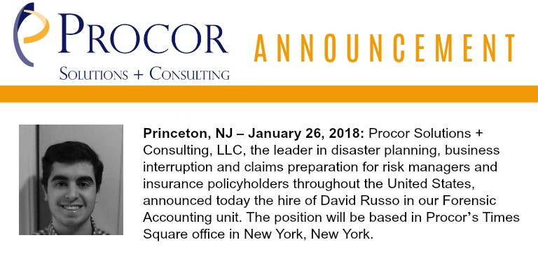 New Hire Announcement: David Russo