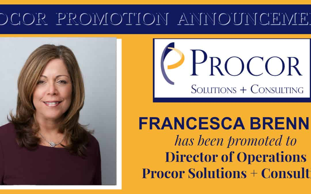 Procor's Francesca Brenner Promoted To Director Of Operations