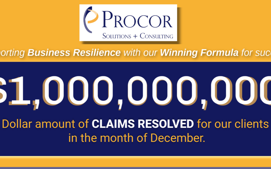 Procor $1 Billion Milestone