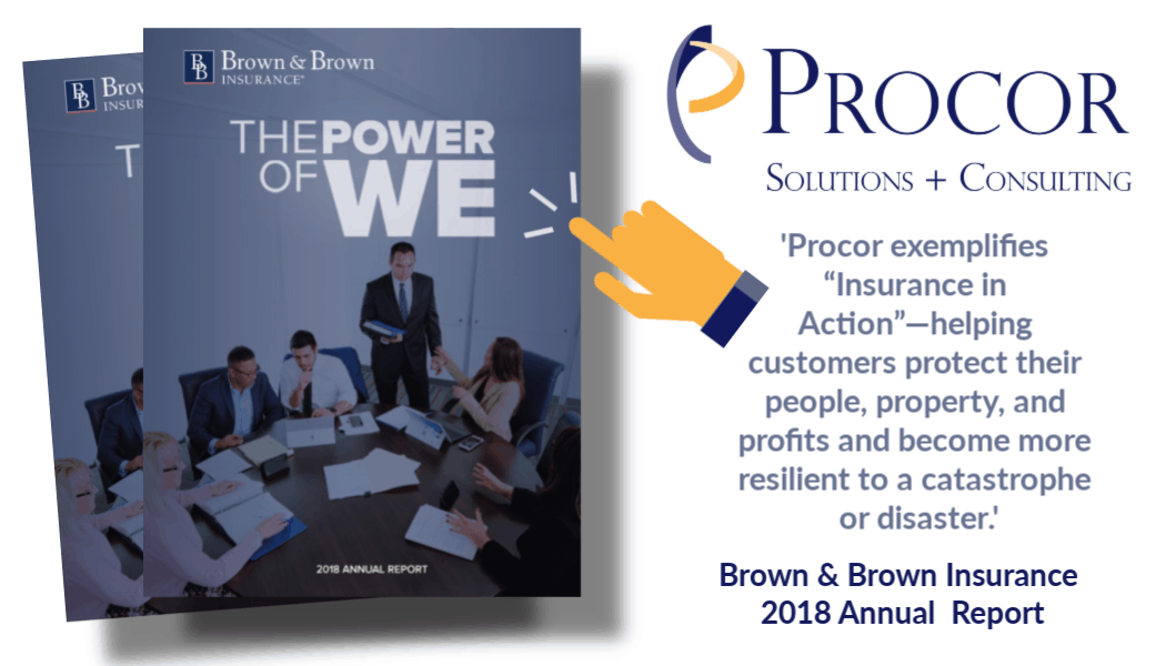Procor featured in Brown & Brown 2018 Annual Report