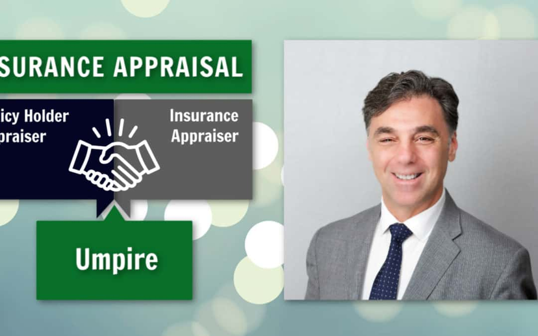 Choosing the Panel in First Party Property and Business Interruption Appraisals