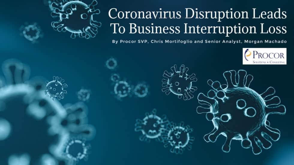 Coronavirus(COVID-19) Disruption leads to business loss