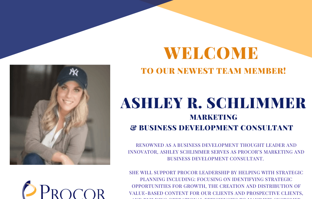 Welcome to the team: Ashley R. Schlimmer
