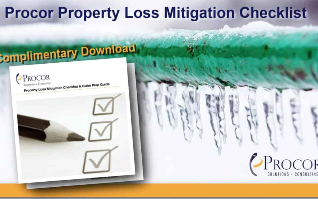 Procor Property Loss Mitigation Checklist