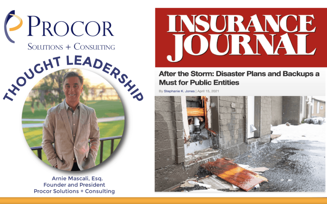 Arnie Mascali Featured in Insurance Journal Magazine