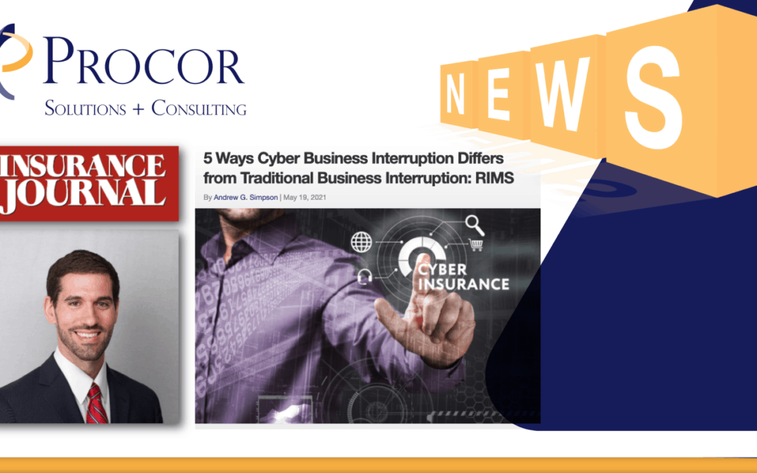 Chris Mortifoglio Brings Clarity To Cyber Business Interruption